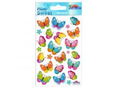 Sticker.114 117 Kleurige Vlinders