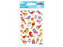 Sticker.114 118 Zangvogeltjes