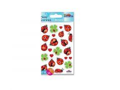 Sticker.114 107 Lieveheersbeestje 1 Vel