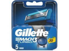 Gillette Mesjes Mach3 Turbo 5St