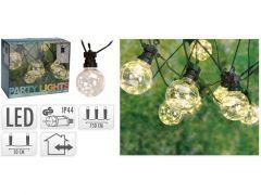Feestverlichting 10 Lampjes Warm Wit 7.5M