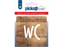 Route Acryl Wc Hout 9 X 9 Cm