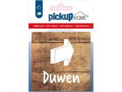 Route Acryl Duwen Hout 9 X 9 Cm