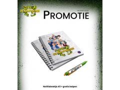 Fc De Kampioenen Notitieboekje A5 + Gratis Balpen