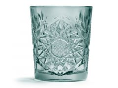 Libbey Hobstar Colored  Whisky Groen