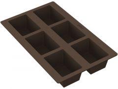 Lekue Bakvorm Silicone 6 Rechthoekige Broodjes 8.4X5.7X4.2Cm