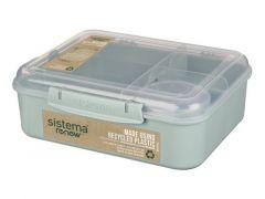 Sistema Renew Bento Lunchbox 4 Compart. & Yoghurtpotje 1.65L, Assortiment Prijs Per Kleur