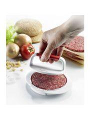 Westmark Hamburgerpers Uit Kunststof Wit En Rood