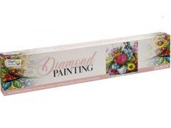 Diamond Painting Flowers 30X30Cm