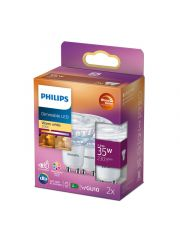 Philips Led Cla 35W Gu10 C90 Ww 36D Wgd 2Srt6