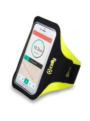 Celly Sport Armband Telefoon Geel