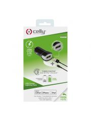 Celly Auto Lader 2.4A Mfi Usb Zw