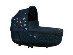 Cybex Platinum Priam Lux Draagmand Fashion Jewels Of Nature-Dark Blue Pu1