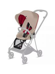 Cybex Platinum Mios Zit Pack Ferrari/Silver Grey-Light Grey Pu1