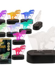 3D Lamp T-Rex 20Cm Mte Usb Kabel Assortiment Prijs Per Kleur
