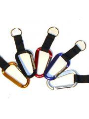Metal Carabiner Sleutelhanger 13X4Cm Assortimenet Prijs Per Kleur