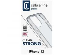 Cellularline Iphone 12 Clear Case Duo Transparant
