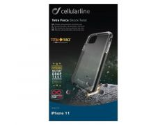Cellularline Iphone 11 Tetraforce Shock Twist Case Transparant