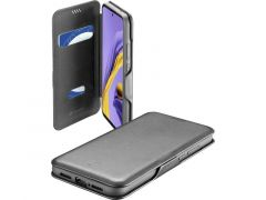 Cellularline Samsung Galaxy A51 Book Case Clutch Zwart