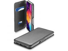 Cellularline Samsung Galaxy A41 Book Case Clutch Zwart