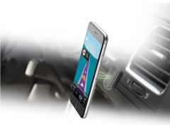 Cellularline Handy Force Magnetisch En Zelfklevend Zwart