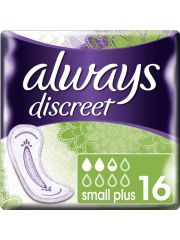 Always Discreet Incont.Pads Small+ 16St