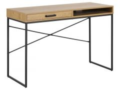 Seaford Desk Paper Wild Oak L110Xw45Xh75Cm