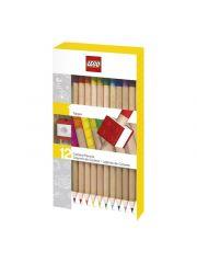 Lego Kleurpotloden Met Topper 12 Stuks