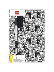 Lego Notebook Met Black Gel Pen Met Minifiguur