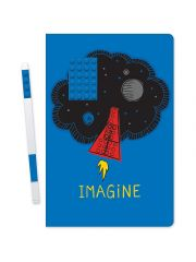 Lego Notebook Imagine Met Blauwe Gel Pen