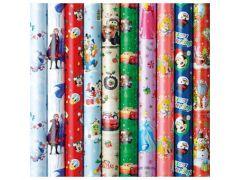Kerstpapier Disney 2Mx70Cm