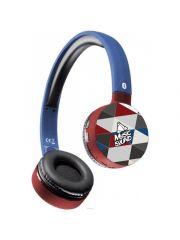 Aql Hoofdtelefoon Bluetooth, On-Ear Headphone Bluetooth Met Mic Universeel, Triangles