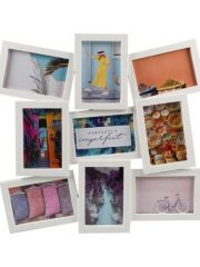 Daisy Gallery 9 Frame   Wit
