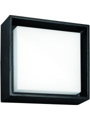Fantasia Libra Plafond Lamp 10W 3000K Ip54 Zwart