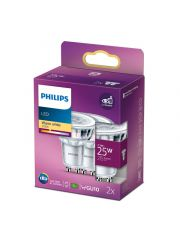 Philips Led Cla  25W Gu10 Ww 36D Nd 2Srt6