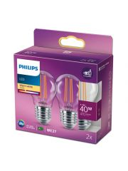 Philips Led Cla 40W P45 E27 Ww Cl Nd 2Srt6