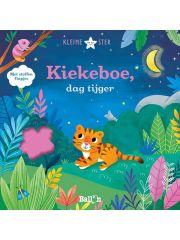 Kiekeboe Dag Tijger - Met Stoffen Flappen