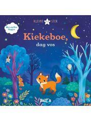 Kiekeboe Dag Vos - Met Stoffen Flappen