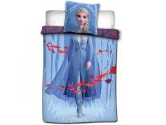 Frozen 2 Dekbedovertrek 100% Katoen 140X200Cm + 65X65Cm