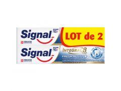 Signal Tandpasta Integal 8 Fresh Resist 2X75Ml