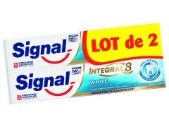 Signal Tandpasta Integal 8 White 2X75Ml