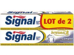 Signal Tandpasta Integal 8 Complet 2X75Ml