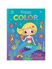 Happy Color Zeemeermin Kleurblok