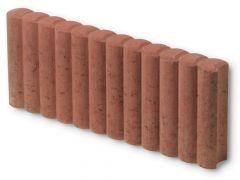 Palissade Boordsteen Rood 50x20x6cm