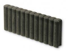 Palissade Boordsteen Zwart 50x20x6cm