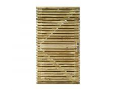 Fino Galva Poort Op Metaal Frame 1000X1800