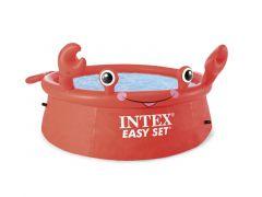 Intex 26100Np Happy Crab Easy Set Pool 183X51Cm