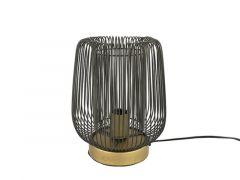 Tafellamp E27 Rope  S Zwart L22B22H28Cm
