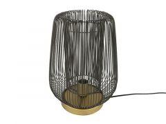 Tafellamp E27 Rope  L Zwart L28B28H38,5Cm