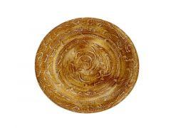 Cosy @ Home Schotel Rough Wash Terracotta 30X30Xh4Cm Rond Aardewerk